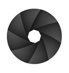 shutter camera vector image