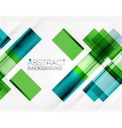 Straight glossy geometric design lines vector