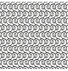 victorian and floral monochrome background vector image