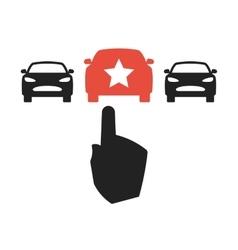 Car Choice concept vector image vector image