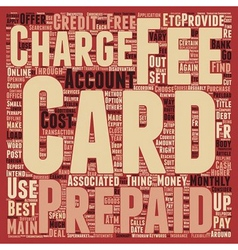 Prepaid credit cards how to choose the right vector