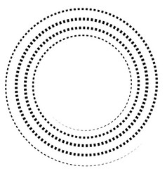 Abstract spiral element twirl swirl whorl shape vector