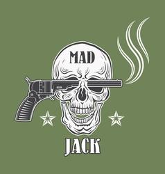 Cowboy emblem vector