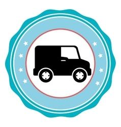 Delivery Line icon vector