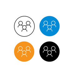 Design icon contacts vector