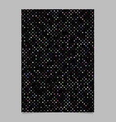 Geometric star pattern background brochure vector