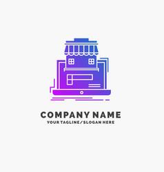 Business marketplace organization data online vector