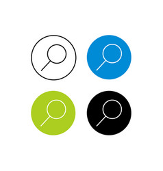 Design icon search vector