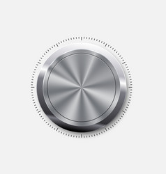 dial knob level vector image