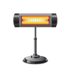 electric heater isolated vector image