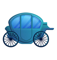 Elegant chariot icon cartoon style vector