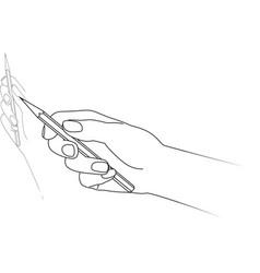 Hand drawing vector