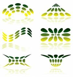 Mesh logo vector