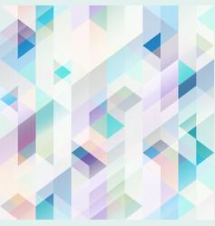 pastel color geometric pattern vector image