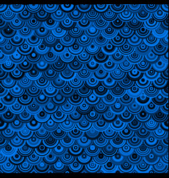 Seamless sapphire chain mail dragon scales simply vector