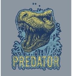Trex Dinosaur background vector