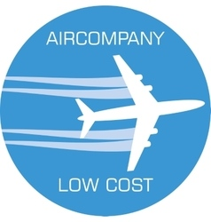 Variant of aircompany logo vector