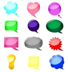 bubbles color vector image vector image
