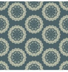 background with a seamless pattern vector image vector image