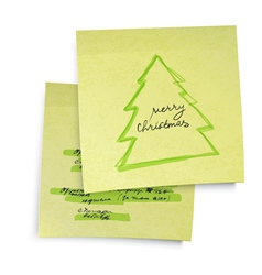 business yellow sticky notes vector image vector image