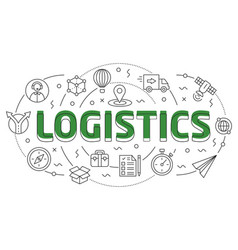linear logistic vector image