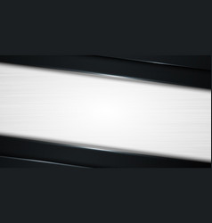 abstract 3d diagonal black and gray gradient vector image