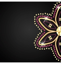 Abstract beautiful black diamond background vector