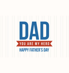 Card style for father day collection vector