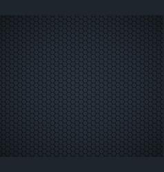 Dark gray technology hexagon honeycomb background vector