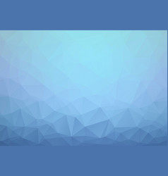 light blue abstract textured polygonal background vector image