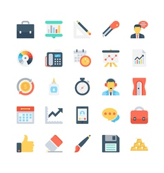 Office and Stationery Icons 4 vector