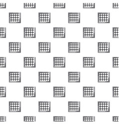 Prison pattern vector