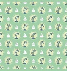 summer vacation pattern vector image