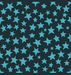science texture with stars vector image