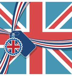 uk decoration vector image vector image