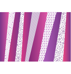 abstract background with vertical stripes vector image