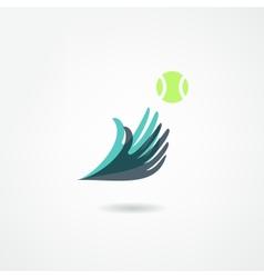 ball game icon vector image