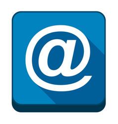 e-mail icon vector image
