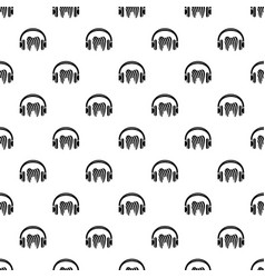 listen tooth icon simple style vector image