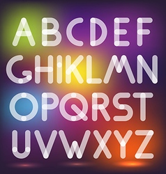Multiply geometric elements letters Design vector