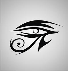 Tribal Eyes vector image