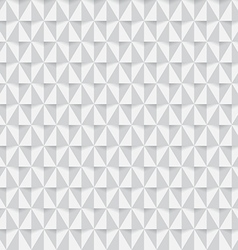 White triangle seamless pattern background vector image