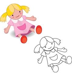 dollset vector image