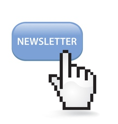 Newsletter Button vector image