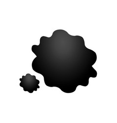 Oil stain icon vector