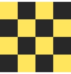 Taxi checkered pattern vector image