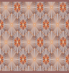 floral seamless pattern oriental texture flower vector image
