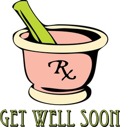 Get Well vector image
