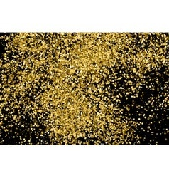 Gold black horizontal vector