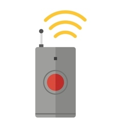 Remote control device icon isolated vector image